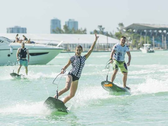 JetSurf Academy USA in Miami - number 1 water adveture activity in USA