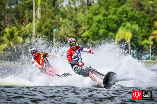 JetSurf Academy USA in Miami - MotoSurf World Cup racers