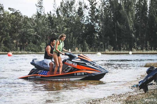 JetSurf Academy USA in Miami - Book JetSurf lesson and boat trip