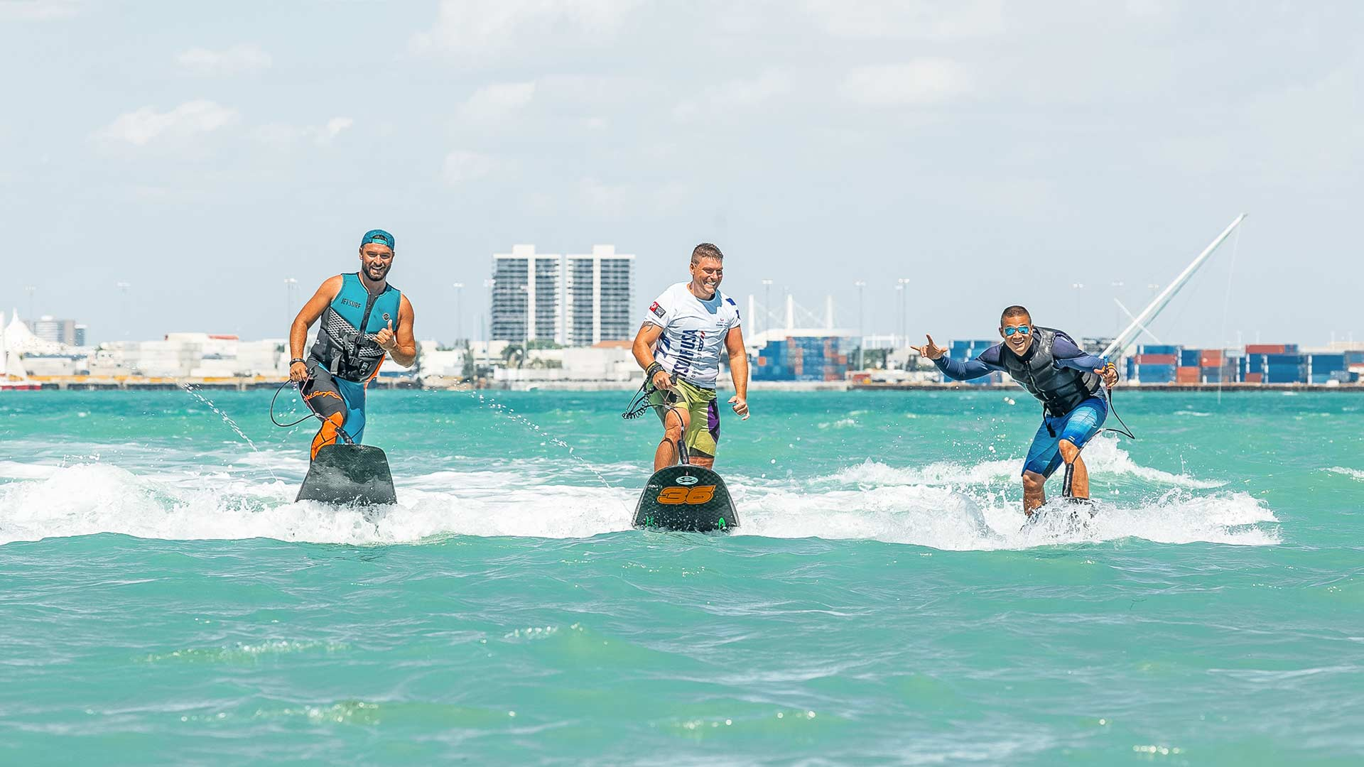 Miami surfing